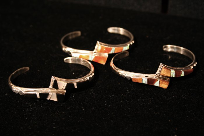 Stone and Gem Variation Cuff Handmade Indian Bracelet-14