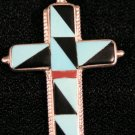 Cross Style Handmade Indian Pendant-22