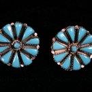 Needlepoint Handmade Indian Earrings-2