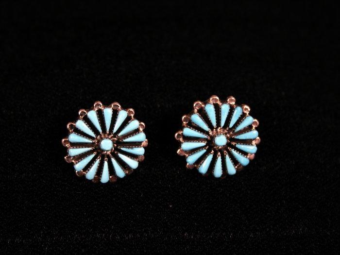 Needlepoint Handmade Indian Earrings-30