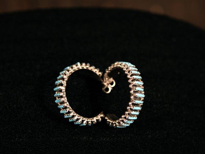 Needlepoint Handmade Indian Earrings-32