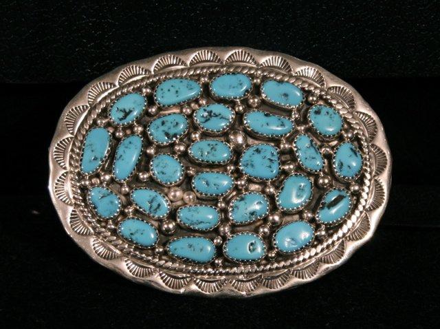 Large Cluster Handmade Indian Beltbuckle-01