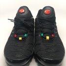 Men's Nike Air Max Plus TN Tuned Black Multi Color Running Shoes