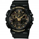 Casio G Shock Watch Camouflage Men' S Watch Ga 100cf-1a9 Black Camo