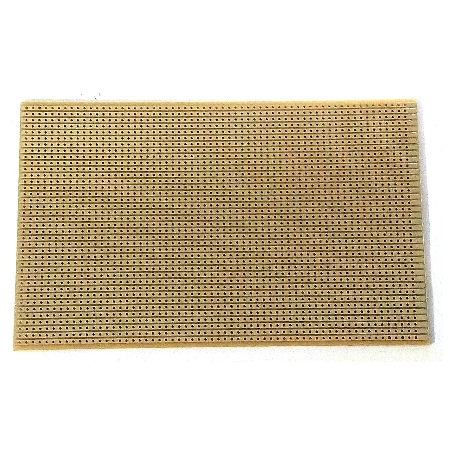 Copper stripboard 100 x 160mm 39 strip x 63 hole prototype vero board gold-plated tracks