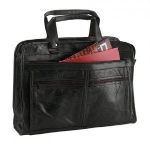 Maxam Genuine Leather Briefcase.