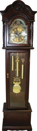 Edward Meyer Grandfather Clock with Beveled Glass