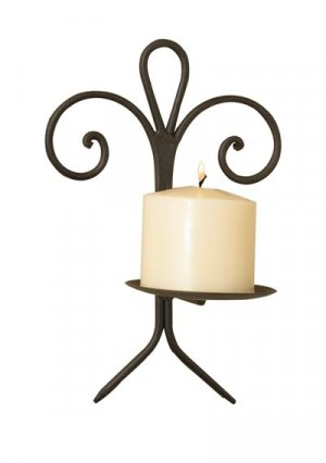 Le Fleur Wrought Iron Wall Sconce