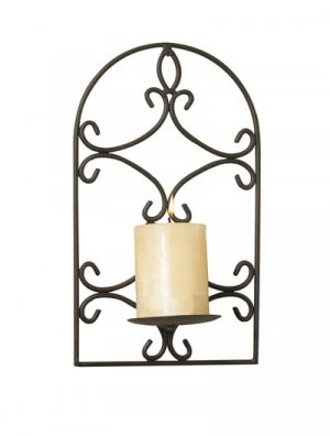 Maison Wrought Iron Wall Sconce
