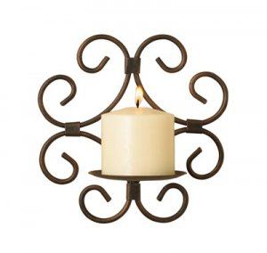 Moroccan Wrought Iron Wall Sconce
