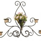Olivia Wrought Iron Sconce