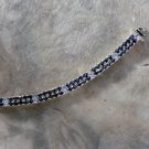 Jessica Rose 18kt Gold over Sterling Silver Tennis Bracelet