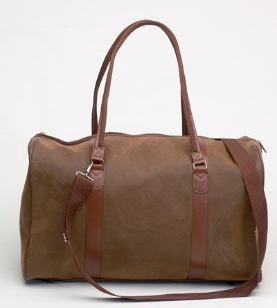 """Embassy's Travel Gear 21"""" Man made Angola Tote Bag"""