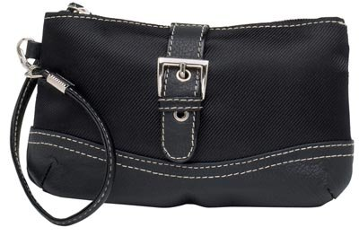 Embassy Black Wristlet Bag