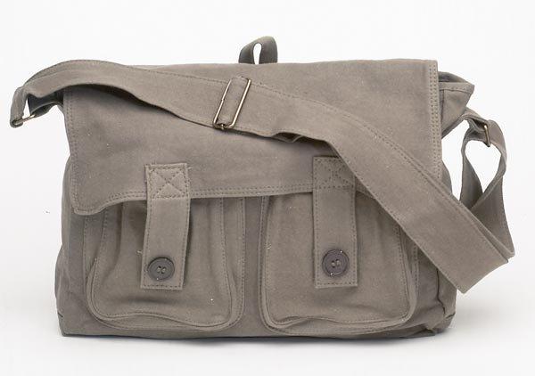 Canvas Shoulder Bag by Maxam