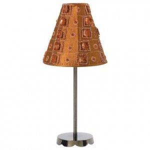 Brown Satin Lamp