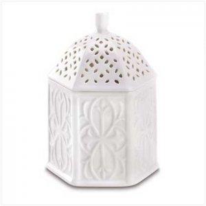 Lacy Ceramic Trinket Box