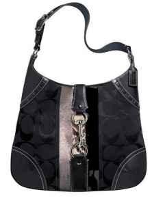 Coach Hampton Python Striped Large Hobo Bag **AUTHENTIC**