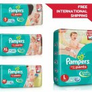 Pampers Diapers Baby Pant New Light Dry Disposable Soft Size 1-2-3-4 S M L XL