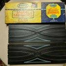 "OLD STOCK-VTG 1962 HO Scale Aurora 9"" Crisscross Roadways Track 1524 in Box"