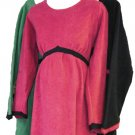 Organic Cotton Velvet Fleece Maternity Dress