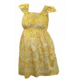 Organic Cotton Maternity Sun Dress