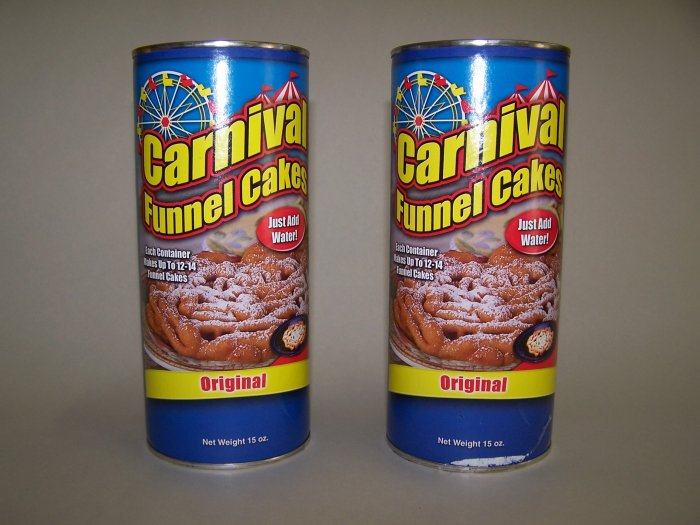 Funnel Cake Mix for 24 Cakes - Sold Out
