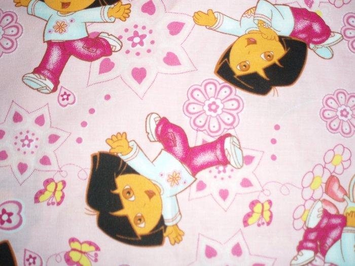 Dora the Explorer Standard Size Pillow Case
