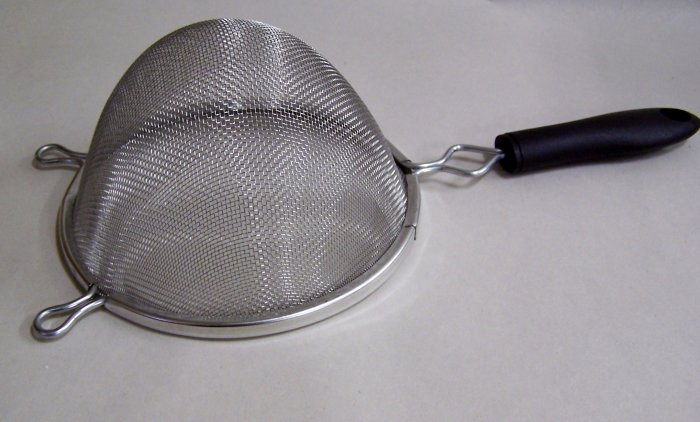 Funnel Cake Powder Sugar Sifter or Grease Strainer