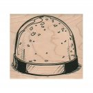 NEW SnowGlobe RUBBER STAMP, Christmas Stamp, Winter Stamp, Holiday Stamp