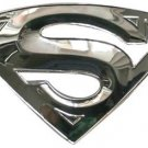 Chrome Superman buckle 3D