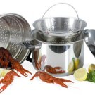 Steam Control Steel Spaghetti Cooker