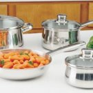7pc Stainless Steel Cookware Set