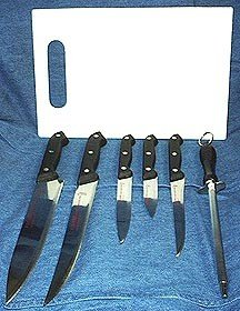 8 Pcs Kitchen Knife Set  (Shipping Included)