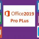 Microsoft Office 2019 Pro PLus Genuine License Key Lifetime Activation