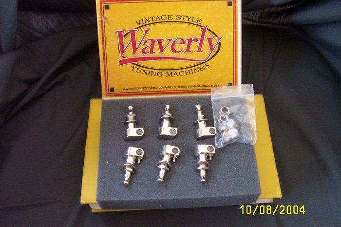Waverly Vintage Guitar Tunning Machines