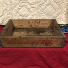 Vintage Wooden RC Cola carrying case