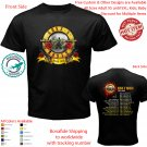 GUNS N ROSES TOUR 2020 T-shirt All Size Adult S-5XL Kids Baby's Toddler