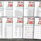 Hippo baby shower games package,Family Hippo baby shower games package,9 Games,INSTANT DOWNLOAD-290