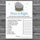 Elephant Price is Right baby shower game,Safari Baby Shower Game,Price is Right Game Printable-303
