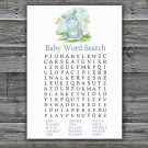 Hippo Baby Shower Word Search Game,Hippo Baby Shower Word Search Game Printable -304