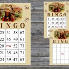 Cigar party bingo card,Cigar theme bingo card,60 Printable bingo card--100