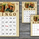 Cigar party bingo card,Cigar theme bingo card,60 Printable bingo card--102