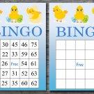 Happy easter bingo cards,easter chick bingo cards,Easter Bingo,60 Printable bingo card--013