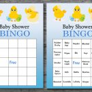 Happy easter baby shower bingo cards,easter chick baby shower bingo cards,Easter baby shower--131