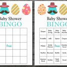 Happy easter baby shower bingo cards,easter egg baby shower bingo cards,Easter baby shower--133