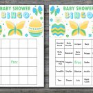 Happy easter baby shower bingo cards,easter egg baby shower bingo cards,Easter baby shower--141