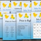 Happy easter baby shower games package,easter chick baby shower games pack,9 Printable games--131