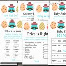 Happy easter baby shower games package,easter egg baby shower games pack,9 Printable games--133