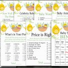 Happy easter baby shower games package,easter chick baby shower games pack,9 Printable games--137